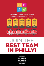 jobs in philadelphia careers sugarhouse casino jobs