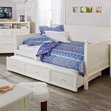 Pull Out Daybed Size White Wood Daybed With Pull Out Trundle