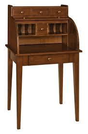 teak roll top desk shaker secretary roll top desk from dutchcrafters amish furniture