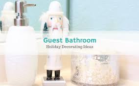 guest bathroom decor impressive home design