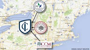 Ithaca Map Ithaca College Icc Theme Helps Transfer Students Stay On Track