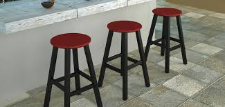 traditional outdoor counter u0026 bar stools by polywood vermont