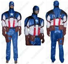 halloween jacket captain america halloween costume any size