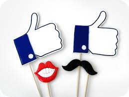 Photo Booth Prop Facebook Likes Photo Booth Props Facebook Likes Mustache