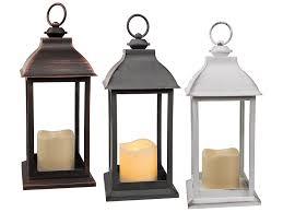 lanterne en plastique avec bougie en led out of the blue kg