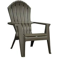 Grey Adirondack Chairs Shop Adams Mfg Corp Earth Brown Resin Stackable Patio Adirondack