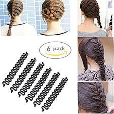 hair bun maker instructiins healtheveryday 6pcs fashion french hair styling clip stick bun