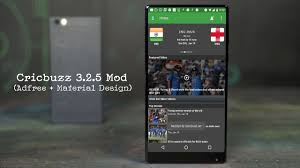 cricbuzz 3 2 5 apk mod material design adfree full hack download