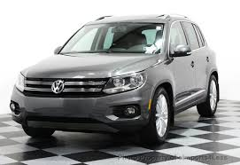 Used Volkswagen In Albany Ga by 2014 Used Volkswagen Tiguan Certified Tiguan Sel 2 0t 4motion Awd