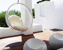 siege boule suspendu fauteuil de jardin suspendu en 55 idées de meubles design