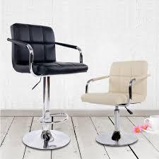 counter height desk chair simple classic design bar chair adjustable lifting swivel bar stool