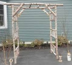 wedding arch log ceremony decor collection on ebay