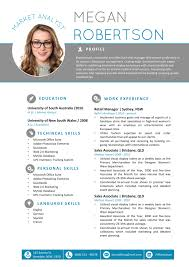 Free Modern Resume Templates Word The Megan Resume Professional Word Template