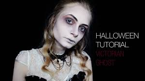 halloween makeup tutorial victorian ghost dead widow gothic