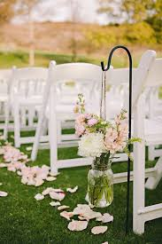 How To Decorate A Backyard Wedding Best 25 Outdoor Wedding Aisle Decor Ideas On Pinterest Outdoor