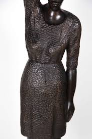 carved wood statue from haiti for sale at 1stdibs