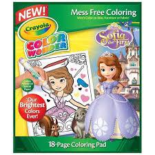 amazon crayola sofia 1st color refill book toys