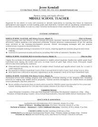 Resume Samples For Teacher by High Science Teacher Resume Best Resume Collection