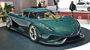 koenigsegg instructions the first production koenigsegg regera looks wonderful in bare green