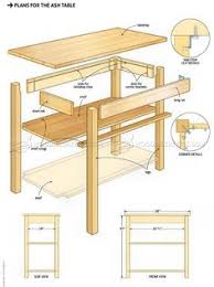 display coffee table plans furniture plans and projects