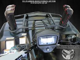 sya warrior riser suzuki king quad snorkel kit