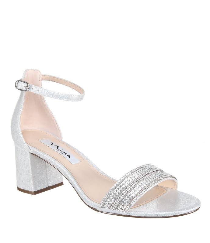 Nina Elenora Heels Silver- Womens