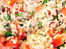 Italian Bread Salad Recipe Ina Garten Brown Rice Tomatoes And Basil Recipe Ina Garten Food Network