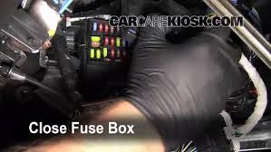 2010 Ford Taurus Interior Interior Fuse Box Location 2010 2015 Ford Taurus 2011 Ford
