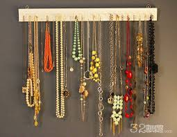 necklace organizer images Easy diy necklace organizer 32 turns32 turns necklace jpg