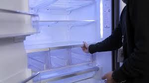 lg bottom freezer french door refrigerator lg french door refrigerator shelves and bins youtube