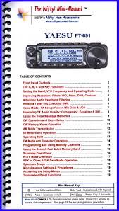yaesu ft 891 mini manual