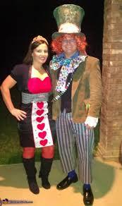 Mad Hatter Halloween Costume Mad Hatter Queen Hearts Halloween Costumes
