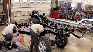 jeep frame time lapse of frame replacement 2009 jeep wrangler done by barry u0027s