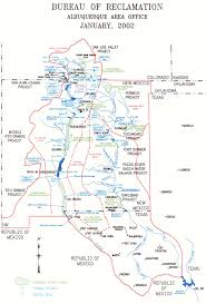 Canadian River Map Annual Operating Plan Water Operations Uc Region Bureau Of