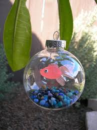 unique handmade christmas ornaments goldfish bowl ornament do it and how