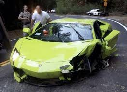 lamborghini aventador roof why lambo aventador on roof because stupid 17 year driver