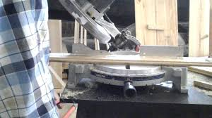 how to cut trim molding with miter saw youtube