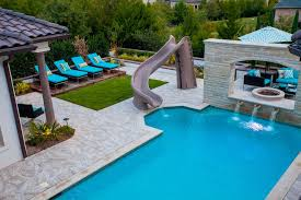 Chaise Lounge Pool Outdoor Chaise Lounge Pool Mediterranean With Pool Water Fountain