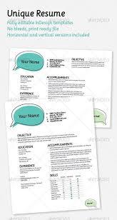 Best Modern Resume Fun Resume Templates 49 Creative Resume Templates Unique Non