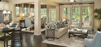 Homes With Open Floor Plans Home Of The Week Evandale Plan By David Weekley Homes