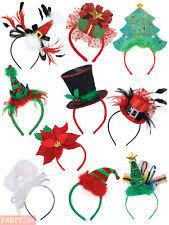 christmas headbands polyester christmas costume headbands ebay