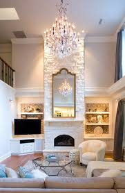Design Living Room With Fireplace And Tv Living Room Makeovers Interior Designers Share Before And After
