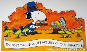 peanuts thanksgiving fall press out designs peanuts