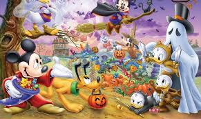 disney halloween background images disney halloween wallpaper free downloads