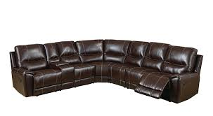Sofa With Recliners by Amazon Com Furniture Of America Reeden Bonded Leather Match