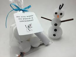 frozen party favors do you want to build a snowman craft kit