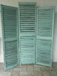 stunning shutter room divider fascinating room divider ideas