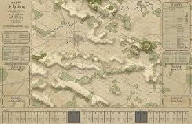 Gettysburg Map Battle Hymn Vol 1 Gettysburg And Pea Ridge Pre Orders