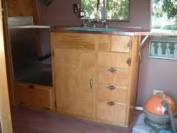 birch veneer kitchen cabinet doors interior cabinets vintage airstream