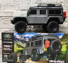 vintage land rover defender 110 traxxas trx4 land rover defender 110 silver 4wd scale 1